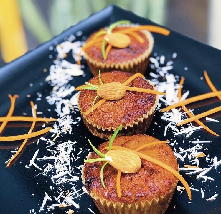 Carrot muffin - gluten free