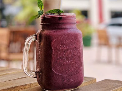 Red ruby smoothie