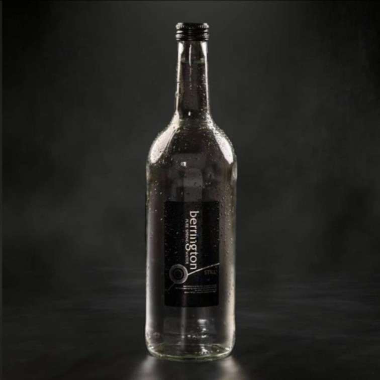 Bottled water - still